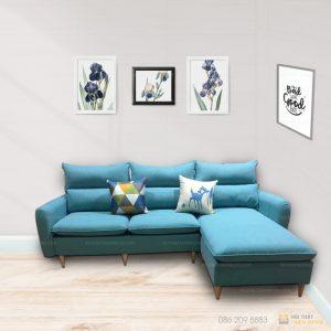Sofa góc nỉ là dòng sofa góc được làm từ chất liệu nỉ cao cấp kết hợp khung gỗ tự nhiên đã qua tẩm sấy chống được mối mọt.Màu sắc trang nhã, phù hợp với mọi không gian phòng khách. Cùng tìm hiểu ngay về chiếc ghế sofa này nào!