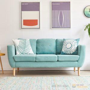 Sofa văng gỗ tự nhiên bọc nỉ đẹp – SF70 là dòngsofa văngmang phong cách hiện đại với kiểu đệm rít múi là một trong những mẫu sofa văng hot nhất hiện nay.